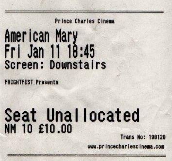 Prince Charles ticket