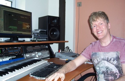 Mark at Desk