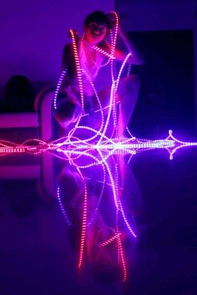 Me in LED_taken by Louis